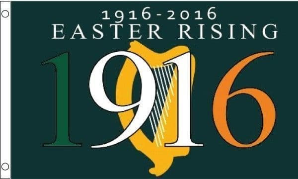 Easter Rising 100 Years Flag